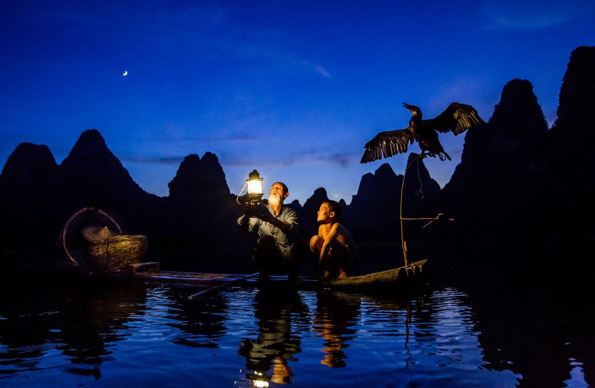 Paddling With Yin-Bou Fishermen