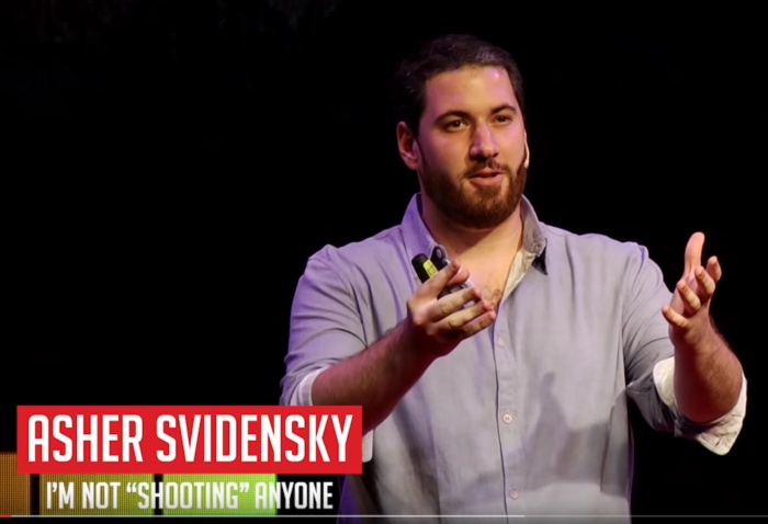 "TEDx: I'm Not ""Shooting"" anyone"