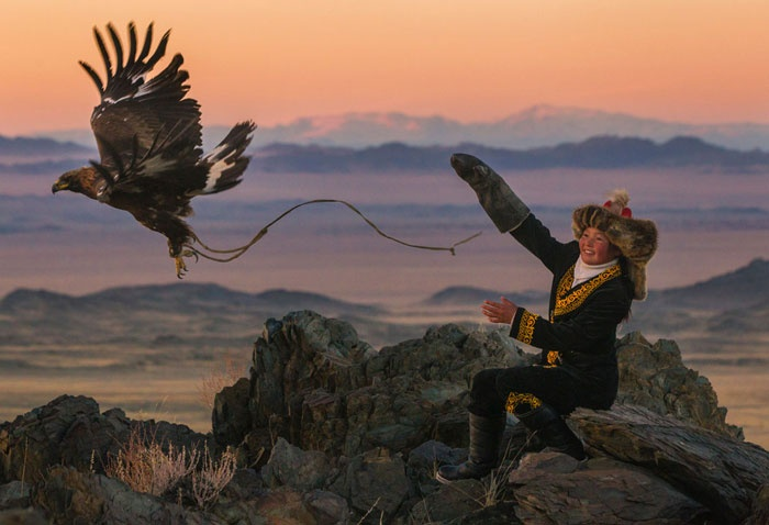 The Eagle Huntress Story
